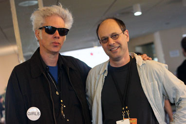 Jim Jarmusch and Bob Boilen