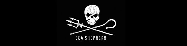 Banner Sea Shepherd Austria / Supporter Metalband Vinegar Hill / Austrian Artist