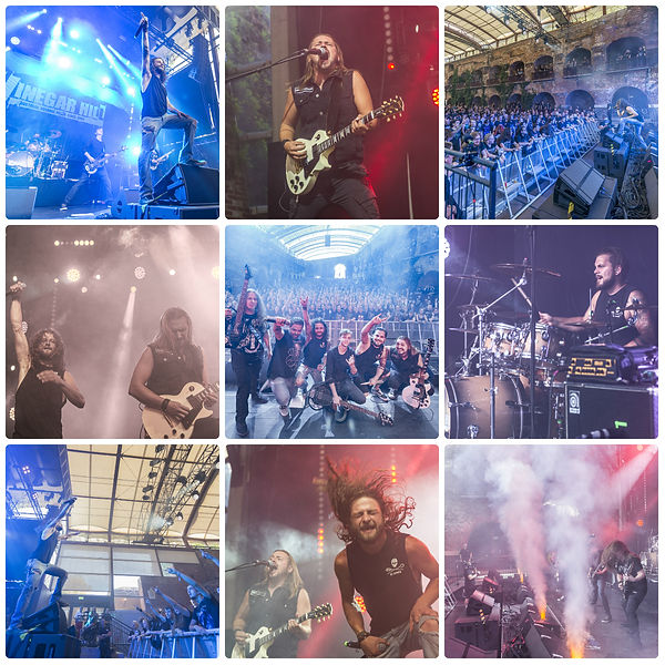 Artist Collage Live Festival 2019 / Metalband Vinegar Hill