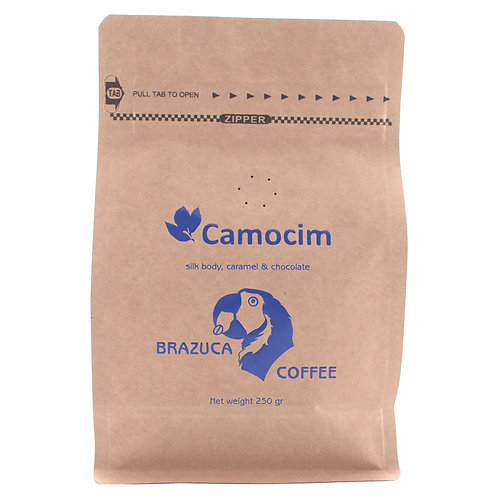 Fazenda Camocim - Smooth and rich, strong nutty flavor.