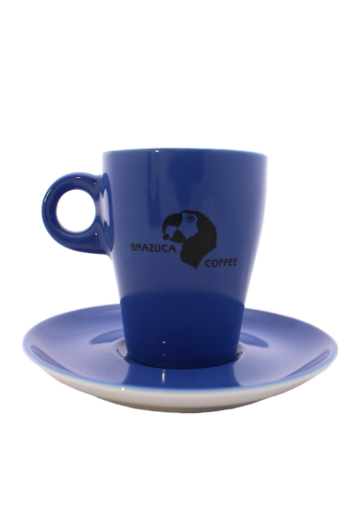 Brazuca coffee cup and saucer set