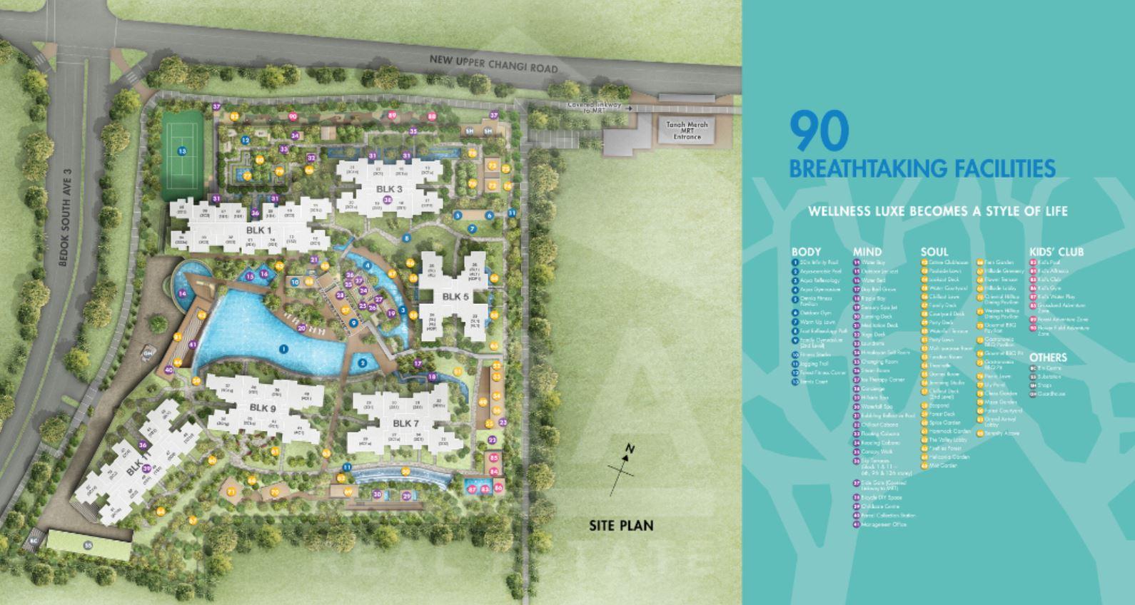 Grandeur Park Residences Siteplan