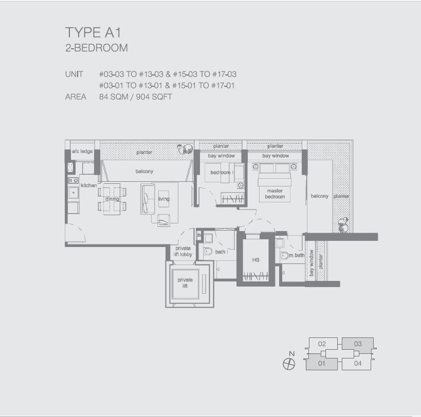 Peak at Cairnhill II A1 2BR