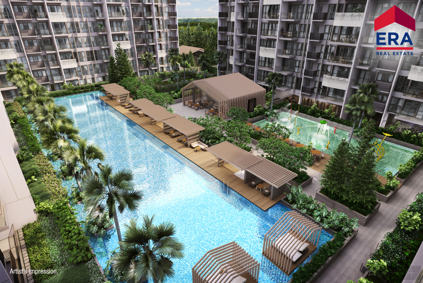 The Alps Residences Pool