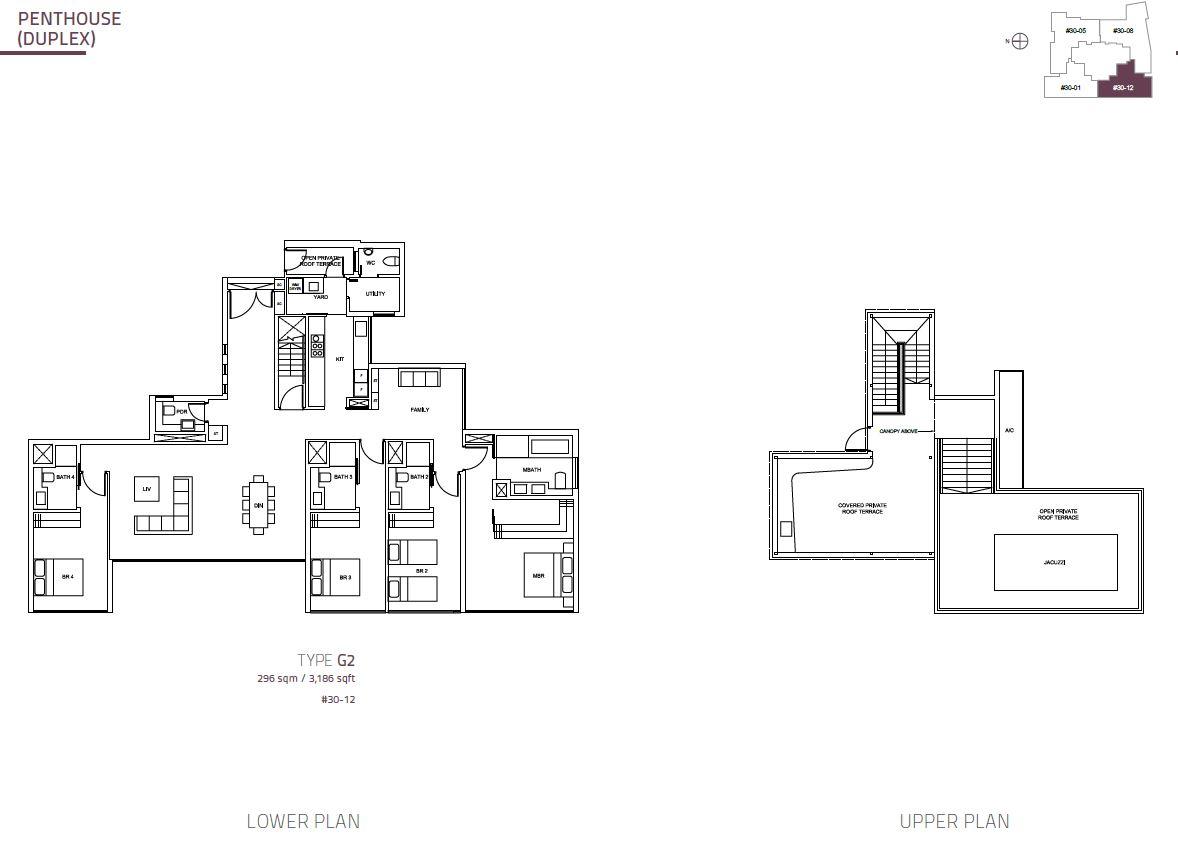 Cairnhill Nine PH Duplex  G2  3186sqft