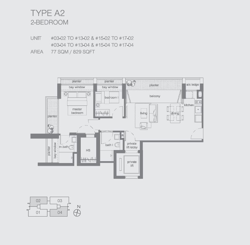 Peak at Cairnhill II A2 2BR