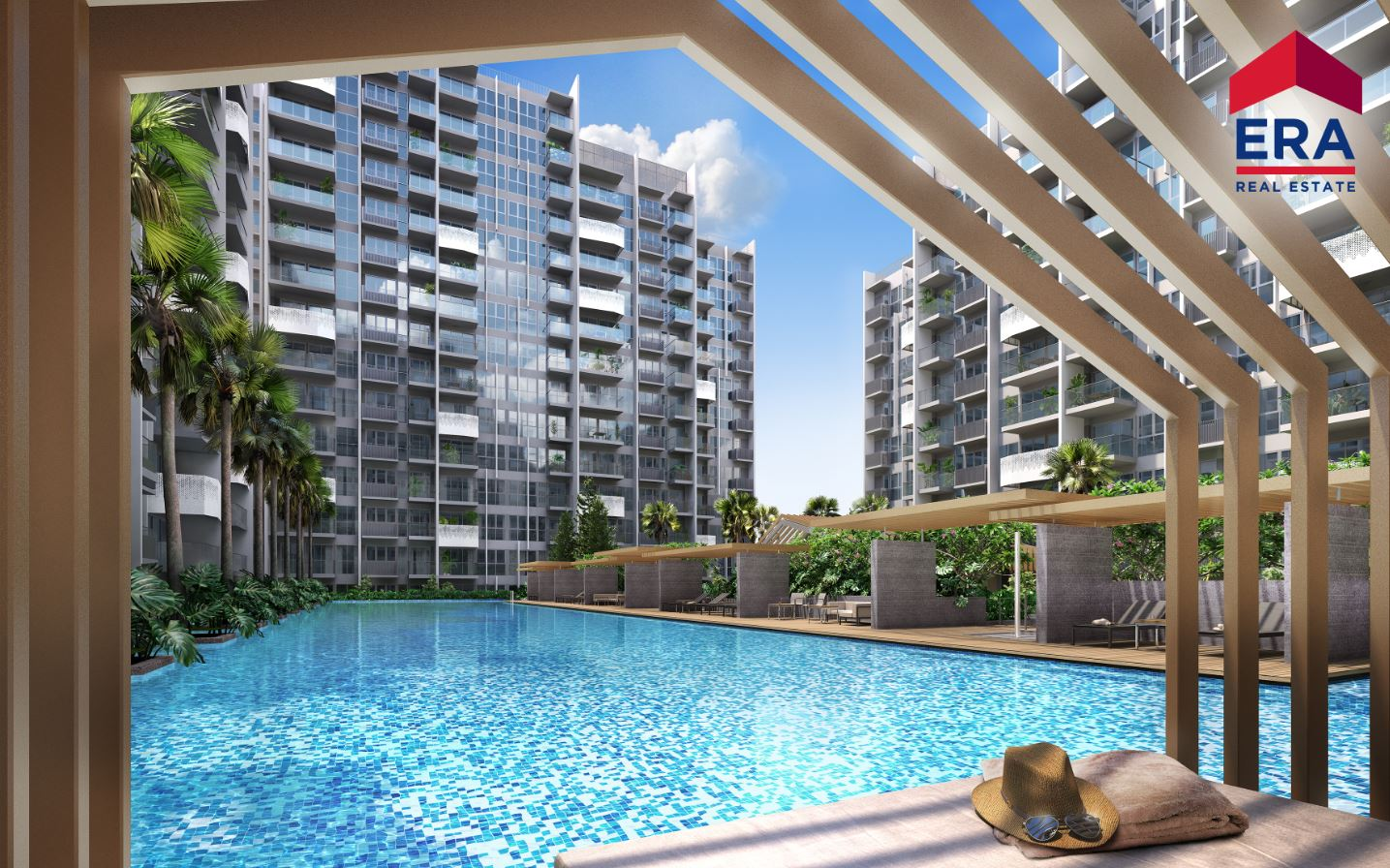 The Alps Residences Pool 2