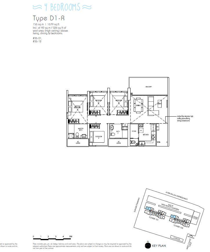 4BR D1R_Parc Riviera Floorplan_Terence Low_96411910