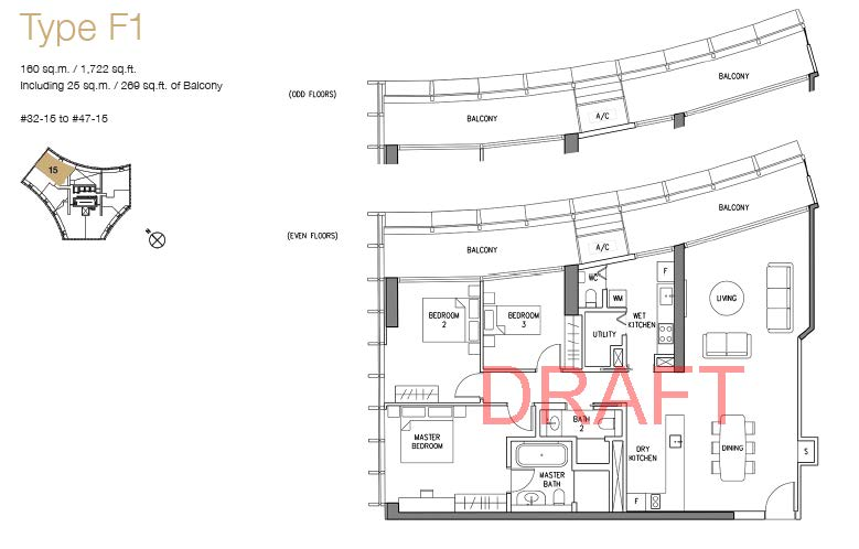 DUO floor plans w watermark_Type F1 (3BR)