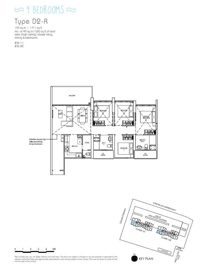 4BR D2R_Parc Riviera Floorplan_Terence Low_96411910
