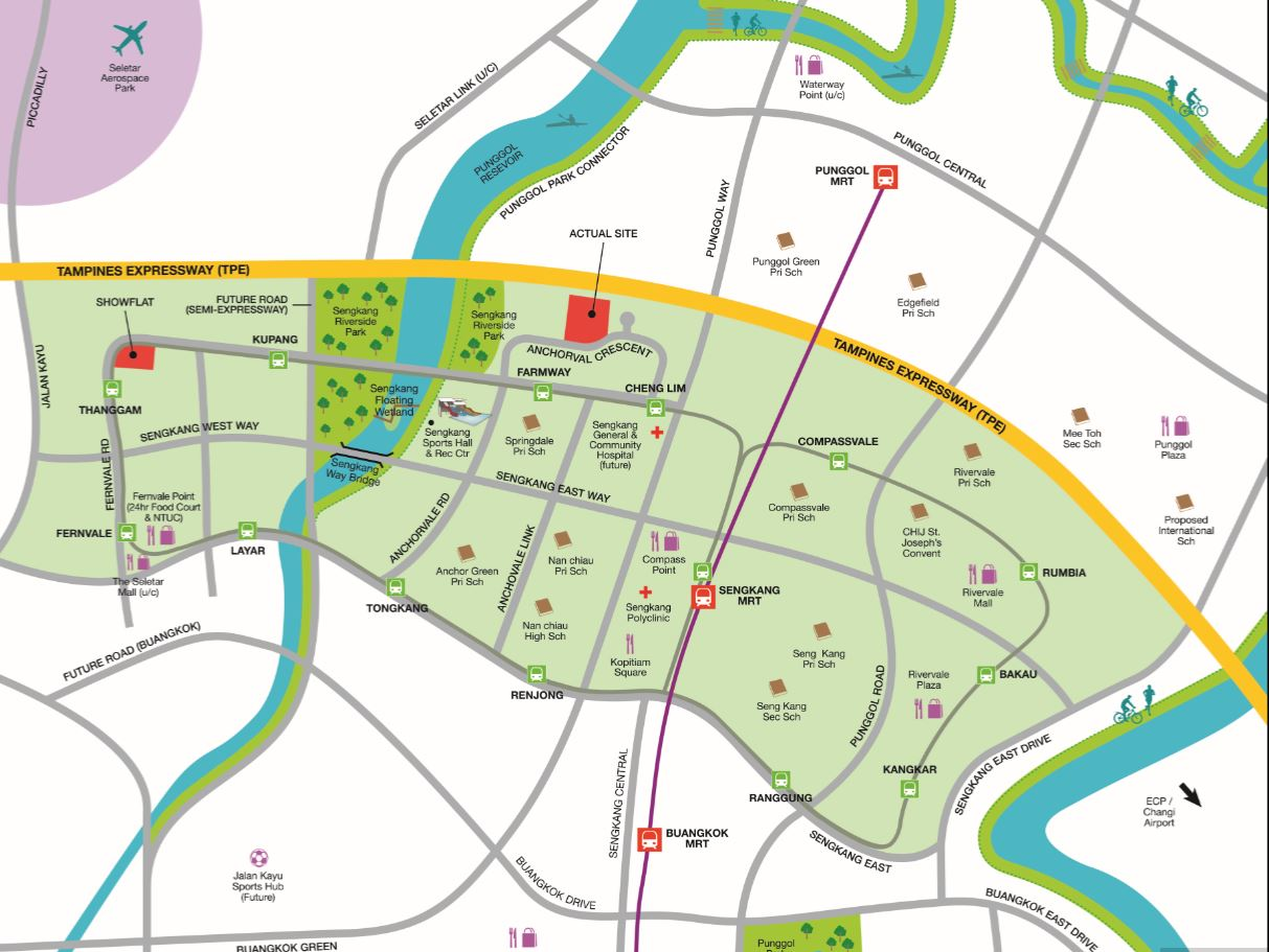 Resized Bellewaters Location Map