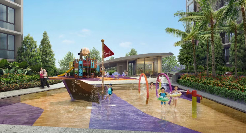 Treasure Crest Kids Pool