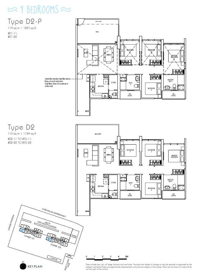 4BR D2P D2_Parc Riviera Floorplan_Terence Low_96411910