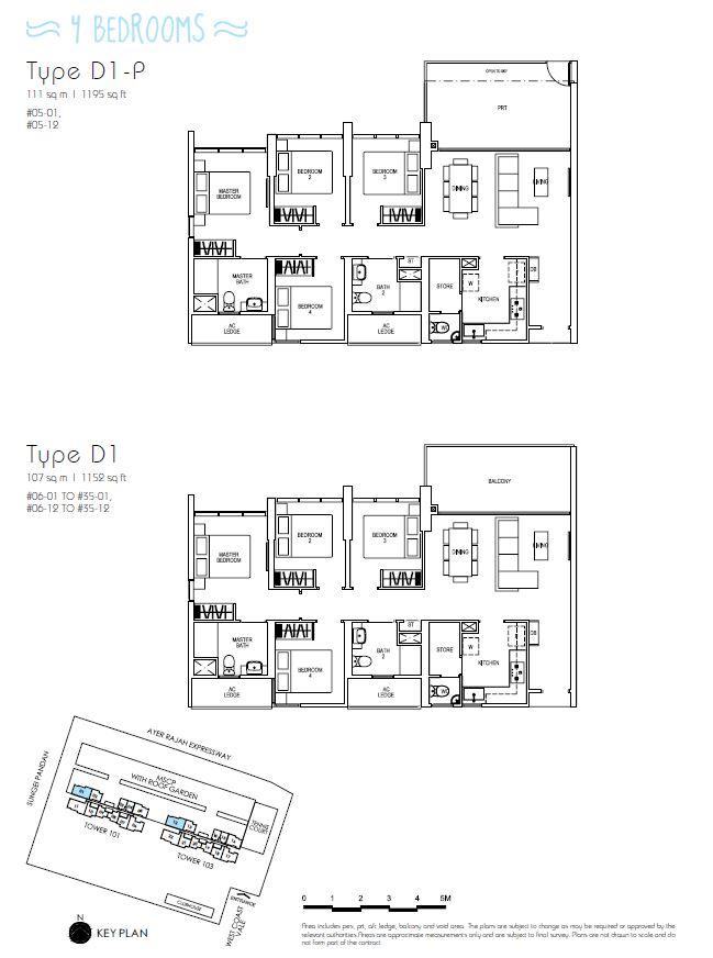 4BR D1P D1_Parc Riviera Floorplan_Terence Low_96411910