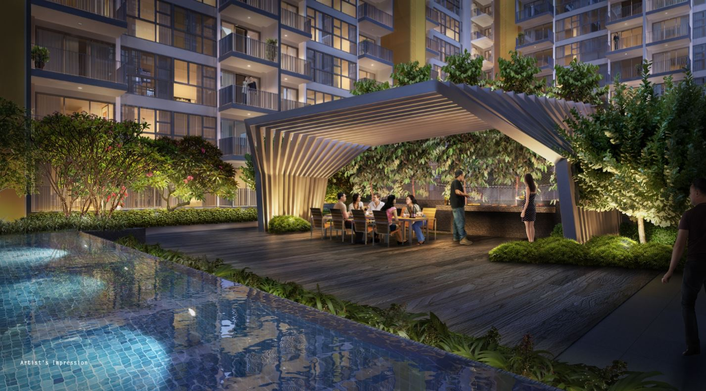 Westwood Residences bbq with hot plate and grill