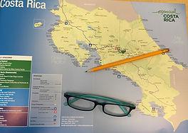Costa Rica map, Costa Rica