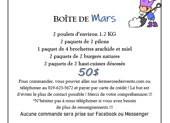 Boite de Mars
