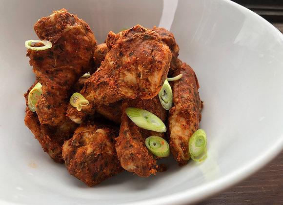 Ailes BBQ aux fines-herbes de poulet de grain surgelées