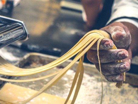 The Story Behind the Spaghetti with Lentils