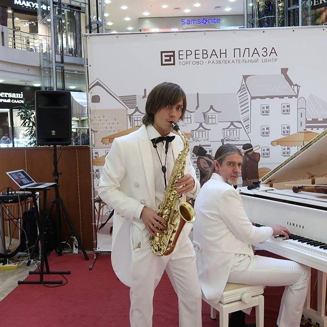 #пежемскийегор #актер #саксофонист #музыкант  День Святого Валентина в тц Ереван Плаза