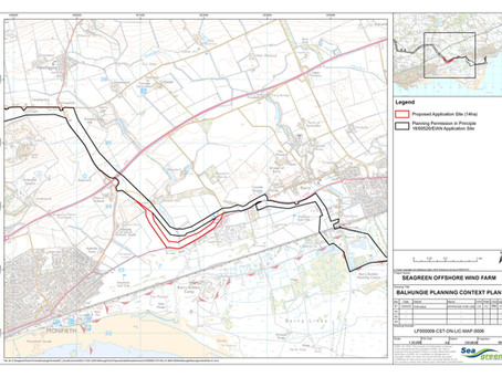 Balhungie Cable Route Variation Application submitted to Angus Council