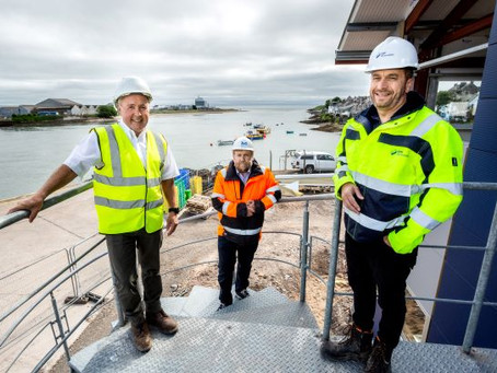 Contract awarded for new pontoon at Montrose Port