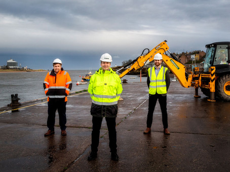 Local contractor Pert-Bruce awarded Seagreen contract at Montrose Port