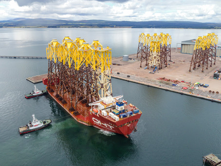 Seagreen delivers green jobs boost to Port of Nigg