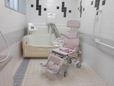 入浴装置がやってきました