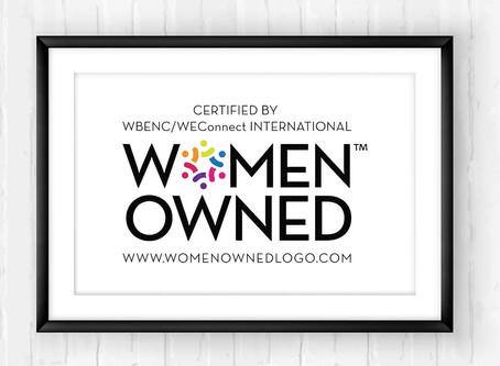 A Ricamil Engenharia é certificada com o selo WEConnect International