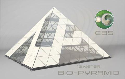 12 meter bio pyramid