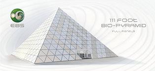 111 foot bio pyramid, full panel design