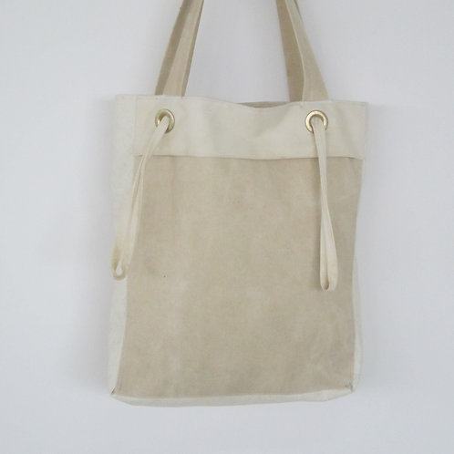 Ethical canvas shopping bag