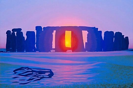 Winter Solstice Stone Henge