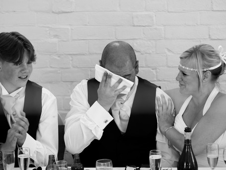 Wedding day speeches - how to do a good one