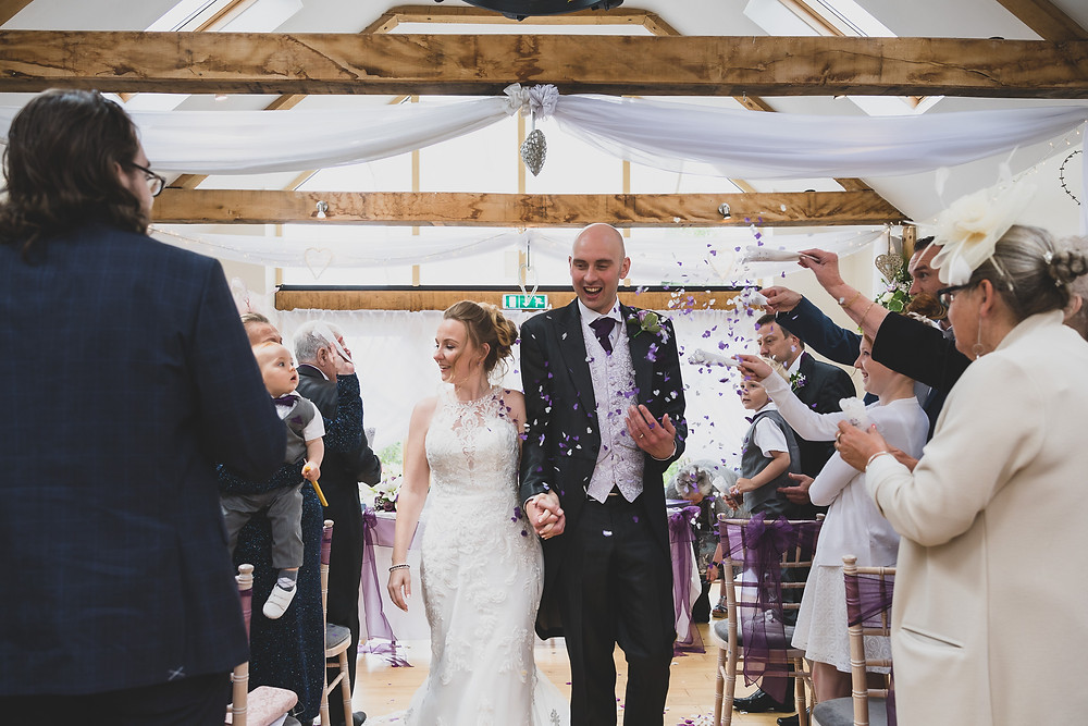 confetti by Steve and Tania Photography