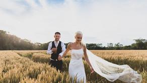 Dave and Georgia's wedding at Patrick's Barn, Chiddingly