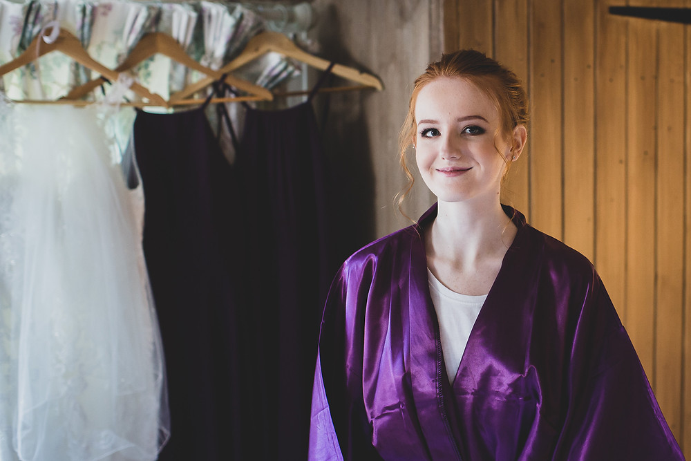 beautiful bridesmaid by Steve and Tania Photography