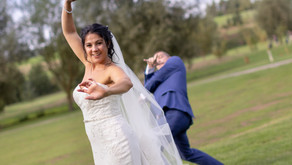 Maria and Paul's wedding at Reigate Hill Golf Club