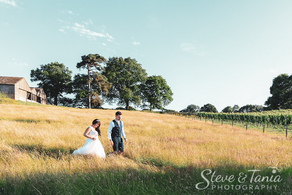 Wedding Photography at Court Garden Vineyard and Winery, Ditchling