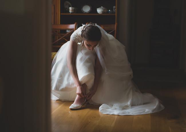 Sophie - ballerina bride!