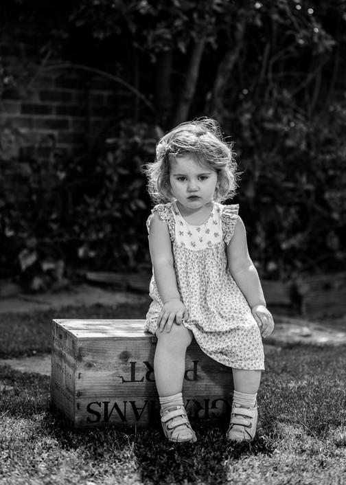 Natural Portrait Photographer - children