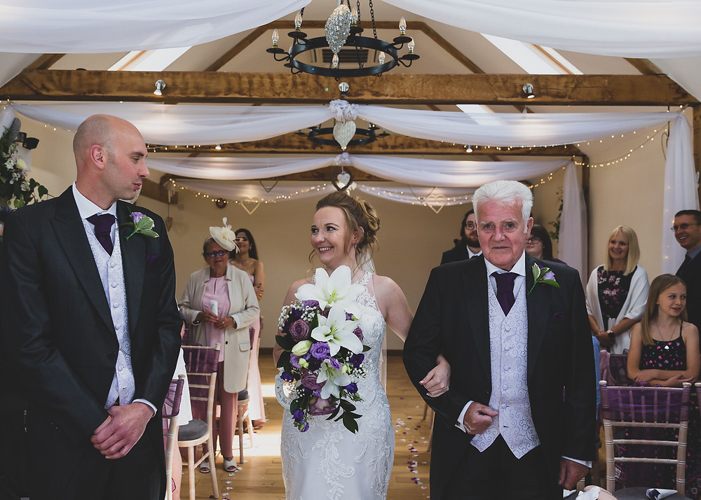 brides first look  by Steve and Tania Photography