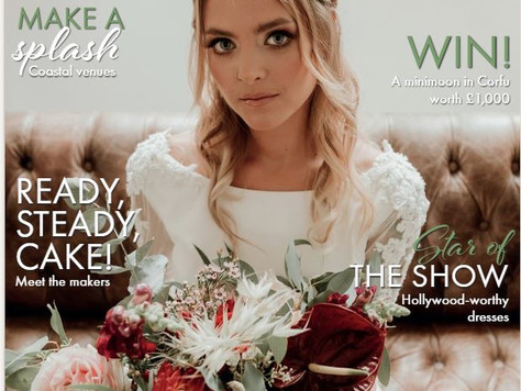 Get your FREE August/September copy of 'Your Sussex Wedding Magazine'