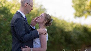 Sarah and David's wedding at Rochester Town Registry Office followed by a barn reception