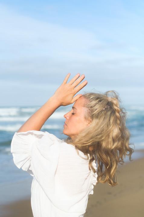 ocean beach yoga