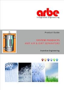 Arbe Brochure - AMF Air & Dirt Separators