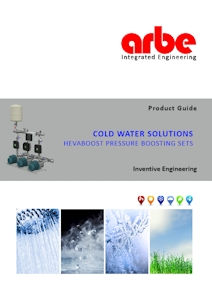 Arbe Brochure - HevaBoost Cold Water Booster Sets