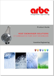 Arbe Brochure - Corrugated Tube Heat Exchangers