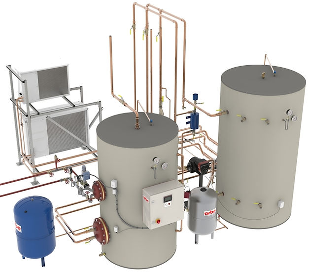 Arbe Chiller Heat Recovery System